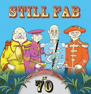 TW207 - Age 70 Funny Card Beatles